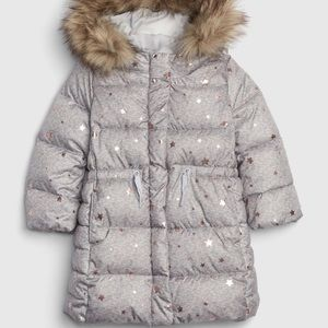 NWT GAP ultraMax cold toddler girl coat size 3T